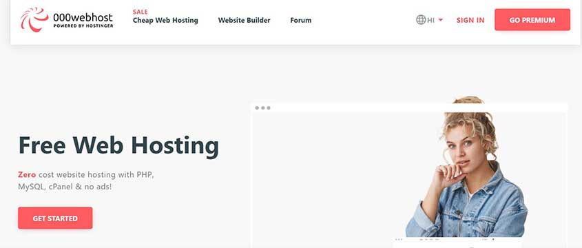 best free website hosting 000webhost