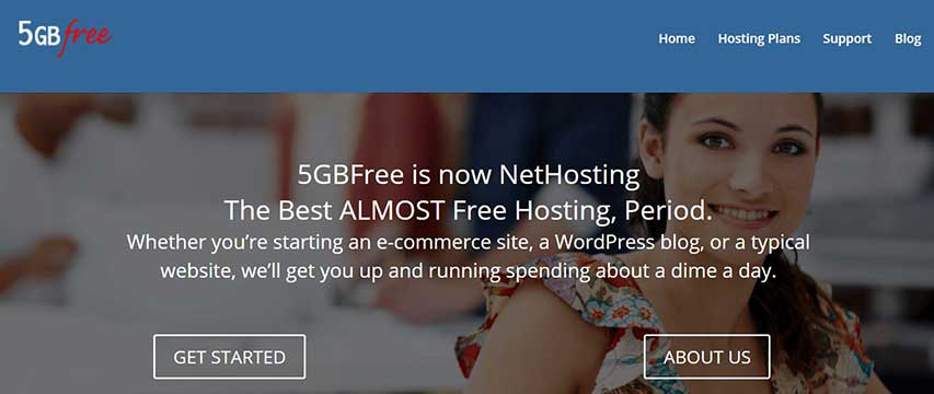 best free website hosting 5gbfree