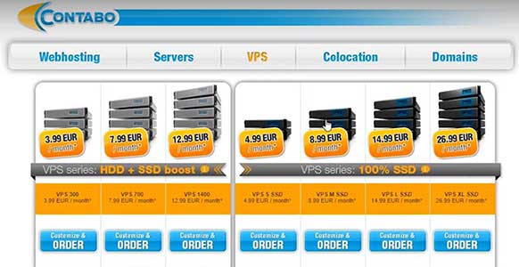 Contabo VPS Pricing