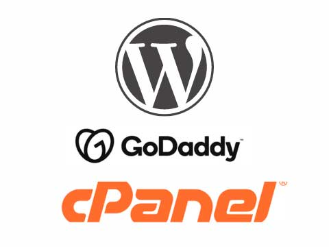 godaddy cpanel admin email login and How to install wordpress